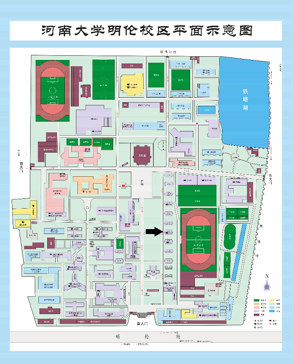 Old Campus map